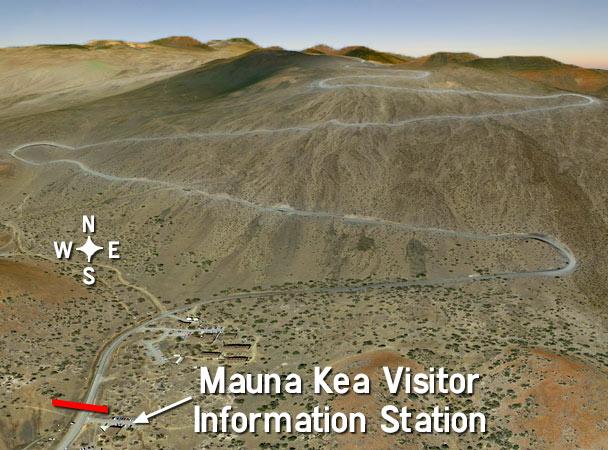 Mauna Kea Rental Car Map And Restrictions Cheap Kona Car